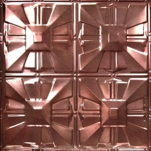 BRONZE METAL CEILING TILES