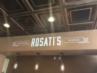 Rosati's Pizza Design 224 Antique Gold Installed
