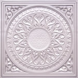 Faux Tin 226 SILVER 2x2 Ceiling Tiles