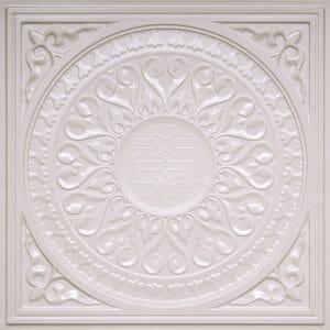 226 WHITE PEARL Ceiling Tile PVC