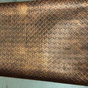 Kitchen Back Splash Antique Copper WC-20 Imperfection