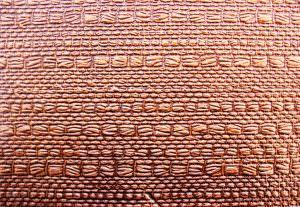 Faux Antique Copper Kitchen Backsplash