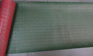 WC -20 Wall Covering PVC Backsplash Patina Copper