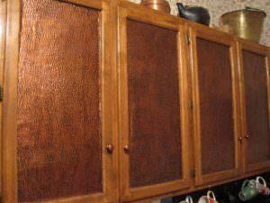 Decorate Kitchen Cabinets PVC Back splash WC-30 Antique Copper