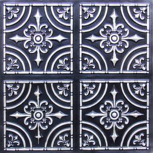 Ceiling Tile Salvador Faux 205 Antique Silver
