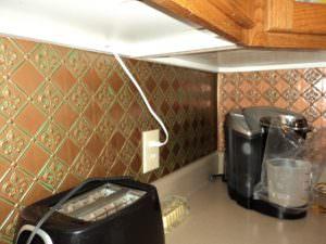 Fleur de Lis Kitchen Back Splash WC-80