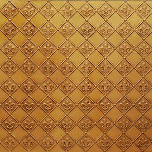 Fleur de Lis Wc-80 Antique Gold
