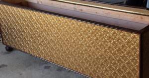 Faux Gold WC-90 Kitchen Backsplash
