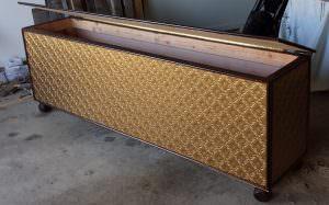 Faux Gold WC-90 PVC Backsplash
