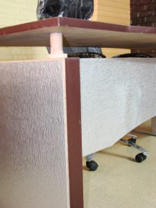 Decorate Furniture Faux Silver WC-30 PVC Back Splash